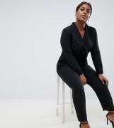 Mono largo de estilo esmoquin de ASOS DESIGN Curve