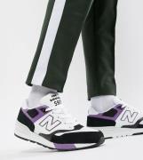 Zapatillas blancas 597 Miami Brights exclusivas en ASOS de New Balance